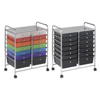 14-Drawer Mobile Organizer by ECR4Kids