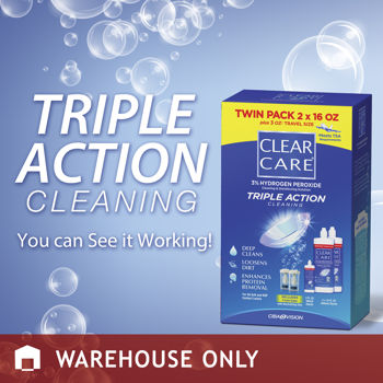 Clear Care® Cleaning & Disinfecting Solution, 35 Ounces