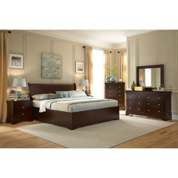 Carolina 6-piece Cal King Bedroom Set
