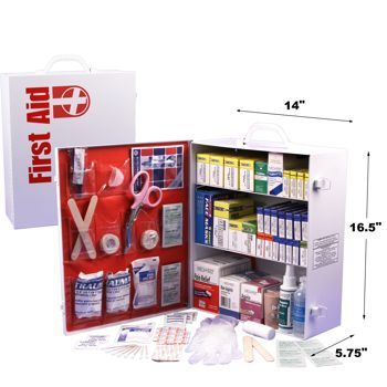 First Aid Cabinet 3-shelf