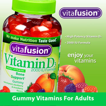 vitafusion™ Vitamin D 2000 IU, 275 Adult Gummy Vitamins
