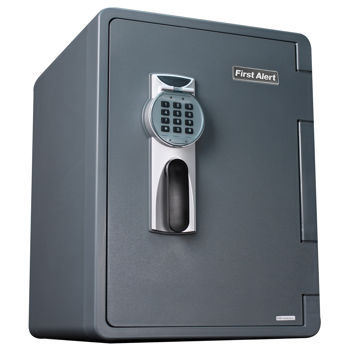 First Alert 2.14 Cubic Ft. Digital Ready-Seal™ Waterproof Fire Resistant Safe