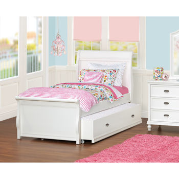 Cafekid Alexia Twin Trundle Sleigh Bed
