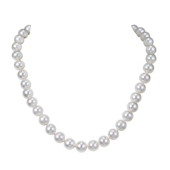 10.5-11.5mm Freshwater Cultured Pearl Necklace 18