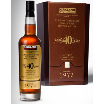 Kirkland Signature™ Glenlivet Distillery 40-Year-Old Single Malt Scotch Whisky - Warehouse Item #746526