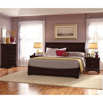 Caprice 4-piece Cal King Bedroom Set