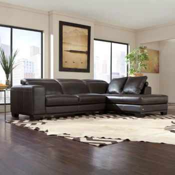 Union Square Leather Sectional