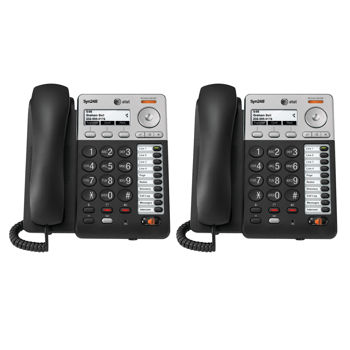 AT&T Syn248 Corded Desk Phone 2-Pack