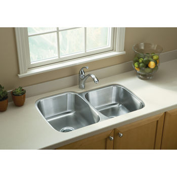 Sterling by Kohler® 60/40 Double Bowl Sink