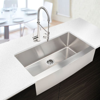 Hahn™ Chef Series Handmade Extra Large Single Bowl Farmhouse Sink