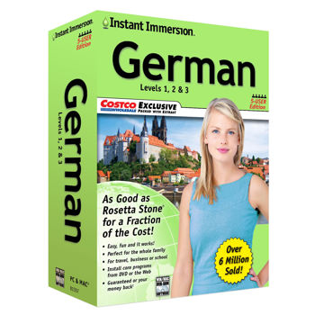 Instant Immersion 5-user Edition - German