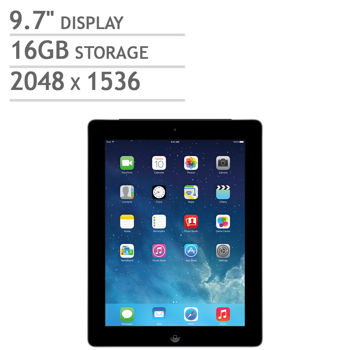 Apple iPad with Retina display | A6X chip | 16GB | Black