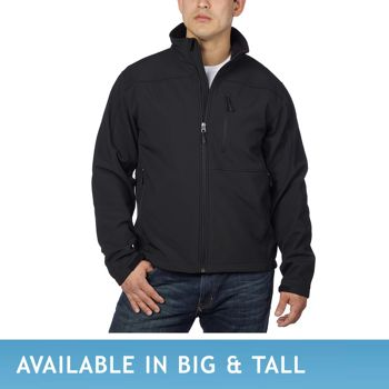 Kirkland Signature Men's Soft Shell Jacket - Black